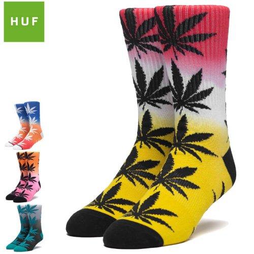 【HUF ハフ スケボー ソックス】Gradient Dye Plantlife Sock【グラデーション】NO57