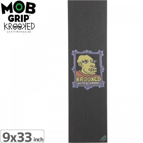 【モブグリップ MOB GRIP デッキテープ】KROOKED FRAME FACE GRIPTAPE【9 x 33】NO11