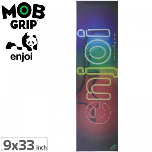 【モブグリップ MOB GRIP デッキテープ】ENJOI NEON SIGN GRIPTAPE【9 x 33】NO193