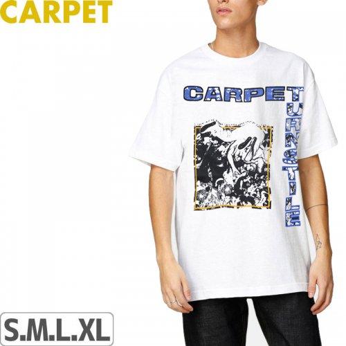【CARPET COMPANY カーペット カンパニー スケートボード Tシャツ】TURNSTILE TEE【ホワイト】NO4