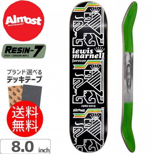 【オルモスト ALMOST デッキ】LEWIS STACK R7 DECK[8.0インチ]NO144