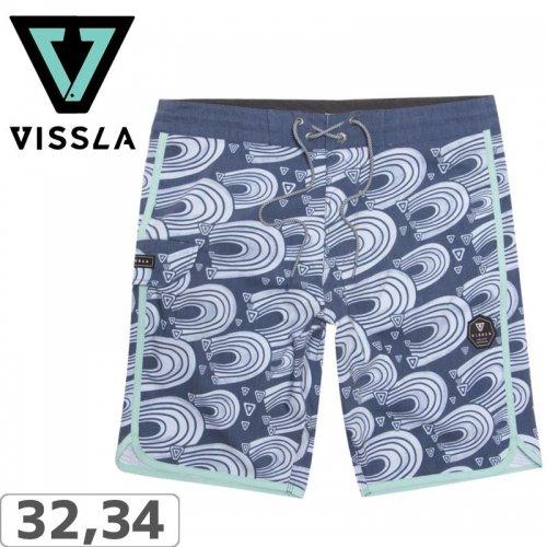 """【ヴィスラ VISSLA ボードショーツ】SURFRIDER 19.5"""" BOARDSHORTS【DKD】NO6"""