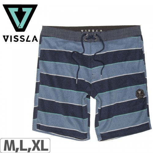 "【ヴィスラ VISSLA ショートパンツ】SADLAND 18.5"" SOFA SURFER SHORTS【DKD】NO8"