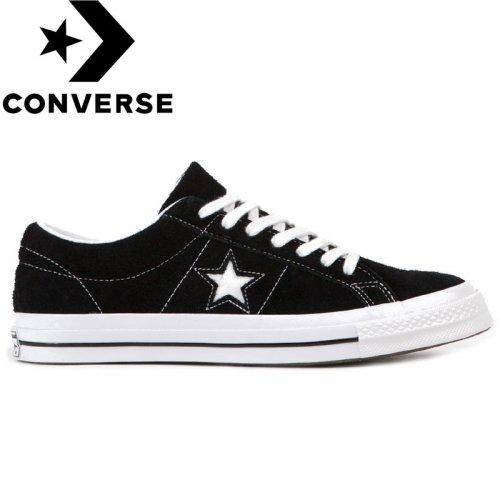 日本未発売モデル【CONVERSE コンバース US シューズ】ONE STAR PREMIUM SUEDE BLACK 158369C【ブラック】NO48