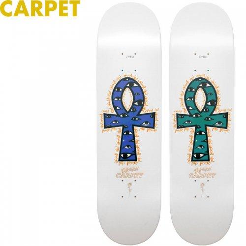 【CARPET COMPANY カーペット カンパニー スケートボード デッキ】ERIK ELLINGTON GUEST BOARD WHITE DECK[8.25インチ]NO3