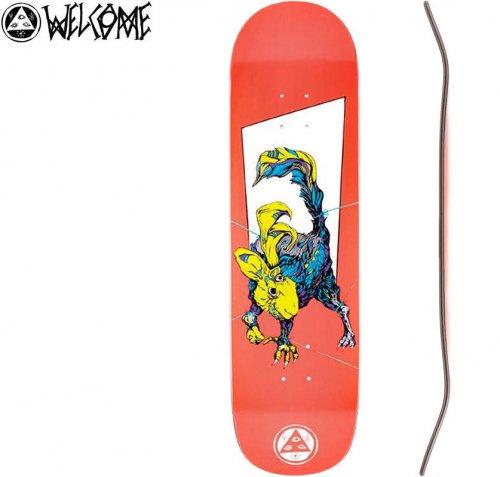 【WELCOME ウェルカム スケートボード デッキ】PACK RABBIT ON BIG BUNYIP[8.5インチ]NO16