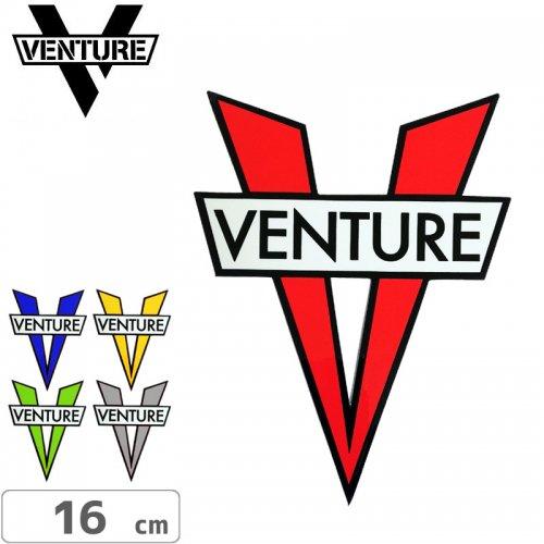 【ベンチャー VENTURE スケボー ステッカー】V DIE CUT STICKER【11.7cm × 16cm】NO27