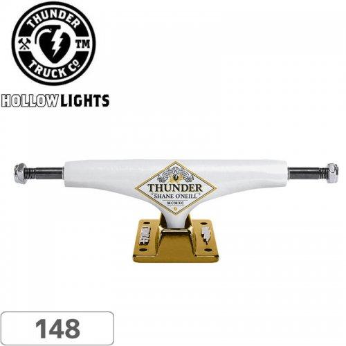 【THUNDER サンダー スケボー トラック】O'Neill Premium HL White/Gold【148】NO139