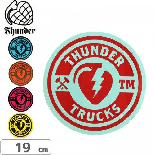 【サンダートラック THUNDER スケボー ステッカー】Circle Sticker【19cm×19cm】NO48