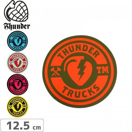 【サンダートラック THUNDER スケボー ステッカー】Circle Sticker【12.5cm×12.5cm】NO49