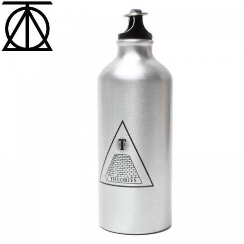 【THEORIES セオリーズ 水筒 ウォーターボトル】Aluminium Water Bottle Silver【アルミ】【シルバー】NO1