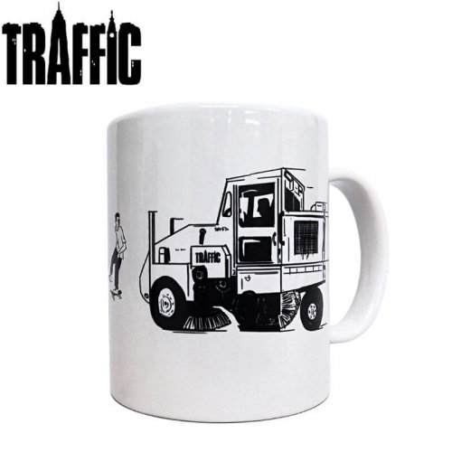 【トラフィック スケボー マグカップ】Traffic Skateboards Street Cleaner Mug【8cm x 9.7cm】NO1