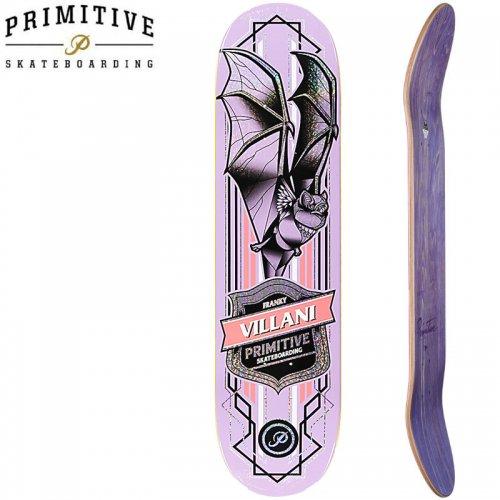 【PRIMITIVE プリミティブ スケボー デッキ】VILLANI PRO BAT DECK[8.5インチ]NO83