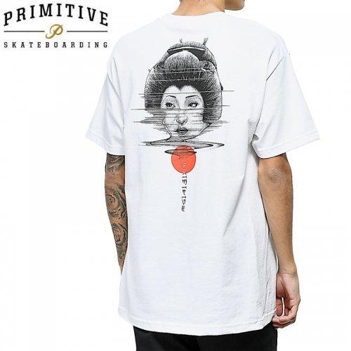 【PRIMITIVE プリミティブ Tシャツ】PAUL JACKSON GEISHA TEE【ホワイト】NO9