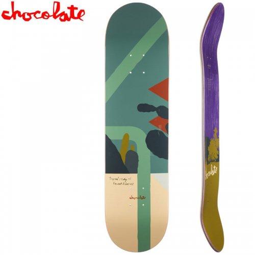 【チョコレート CHOCOLATE スケートボード デッキ】ALVAREZ HECOX TROPICAL STUDIES DECK[8.0インチ]NO172