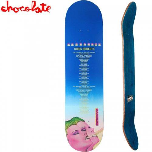 【チョコレート CHOCOLATE スケートボード デッキ】ROBERTS LINER NOTES DECK[8.0インチ]NO176
