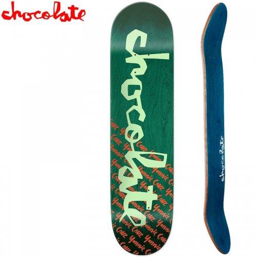 【チョコレート CHOCOLATE スケートボード デッキ】CRUZ ORIGINAL CHUNK DECK[7.75インチ]NO177