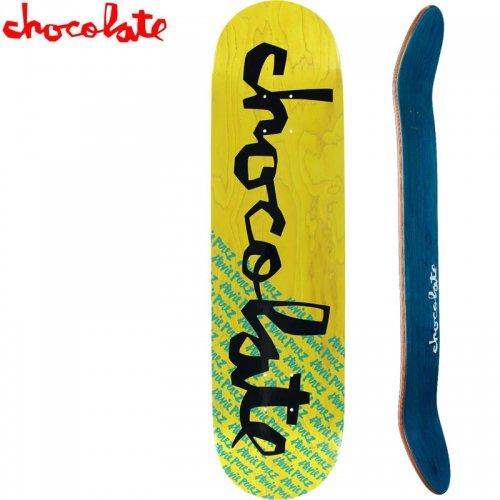 【チョコレート CHOCOLATE スケートボード デッキ】PEREZ ORIGINAL CHUNK DECK[7.875インチ]NO178