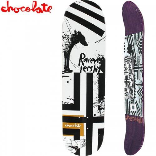 【チョコレート CHOCOLATE スケートボード デッキ】TERSHY HECOX DECK[8.375インチ]NO179