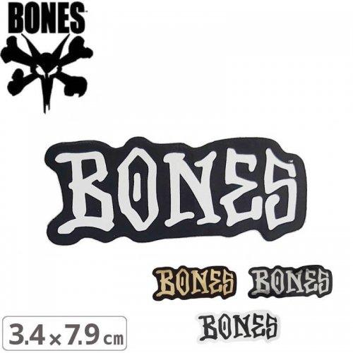 【ボーンズ BONES スケボー ステッカー】BONES WHEELS STICKER【3.4cm x 7.9cm】NO53