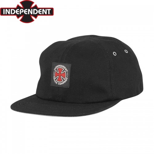 【インディペンデント INDEPENDENT キャップ】APPLIED STRAPBACK CAP【ブラック】NO52