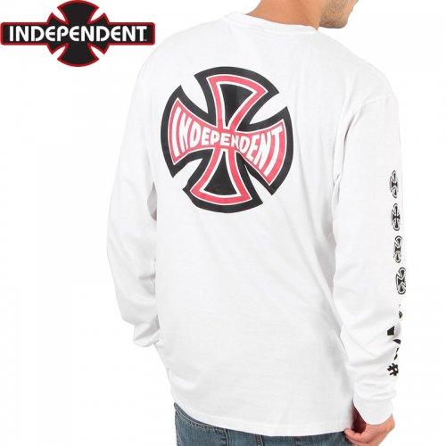 【インディペンデント ロングTシャツ】ANTE L/S TEE【ホワイト】NO8