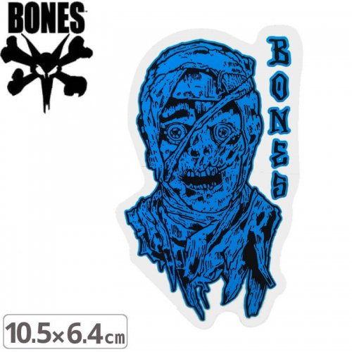 【ボーンズ BONES スケボー ステッカー】TIME BEASTS STICKER【10.5cm x 6.4cm】NO56