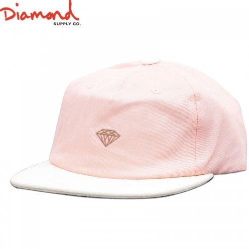 【DIAMOND SUPPLY ダイアモンドサプライ キャップ】MICRO 2TONE BRILLIANT SNAPBACK【ピンク】NO85