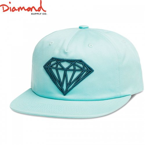 【DIAMOND SUPPLY ダイアモンドサプライ キャップ】BRILLIANT UNCONSTRUCTED SNAPBACK FL17【ブルー】NO89