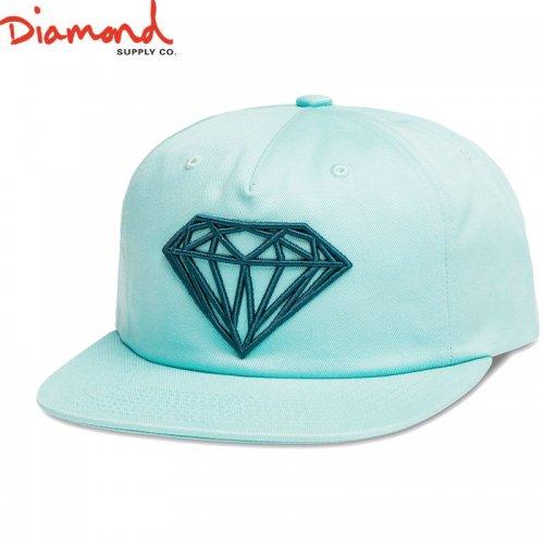 【DIAMOND SUPPLY ダイアモンドサプライ キャップ】BRILLIANT UNCONSTRUCTED SNAPBACK FL17【ブルー】NO89