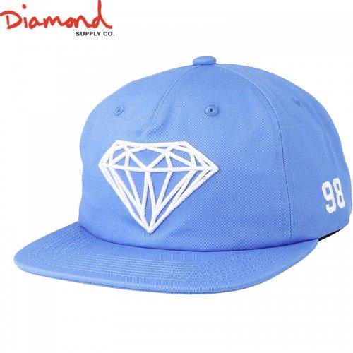 【DIAMOND SUPPLY ダイアモンドサプライ キャップ】BRILLIANT SNAPBACK SU18【ブルー】NO94