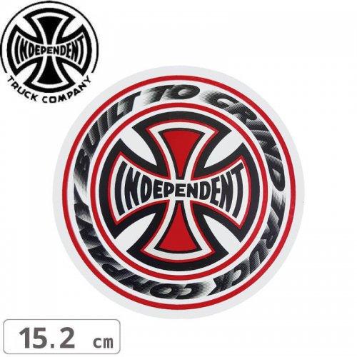 【インディペンデント INDEPENDENT スケボー ステッカー】BLAZE STICKER【15.2cm x 15.2cm】NO109