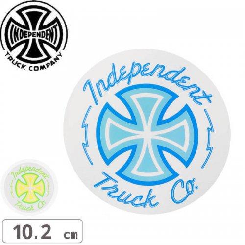 【インディペンデント INDEPENDENT スケボー ステッカー】NEON MYLAR STICKER【10.2cm x 10.2cm】NO110