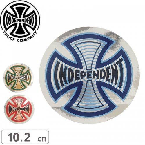 【インディペンデント INDEPENDENT スケボー ステッカー】COIL FOIL STICKER【10.2cm x 10.2cm】NO111