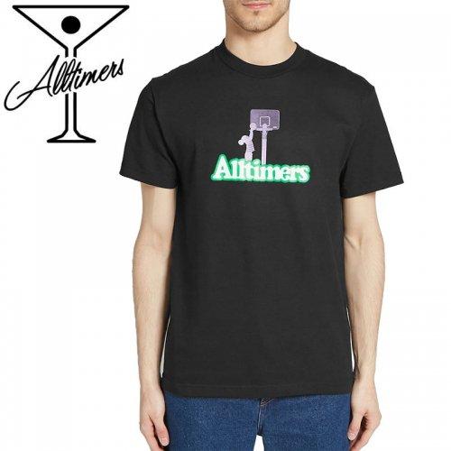 【ALLTIMERS オールタイマーズ スケボー Tシャツ】ALLSTAR ZONE TEE【ブラック】NO6