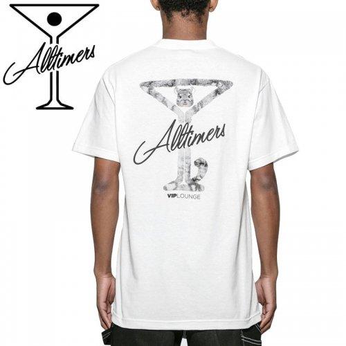 【ALLTIMERS オールタイマーズ スケボー Tシャツ】CHINCHILLA TEE【ホワイト】NO10
