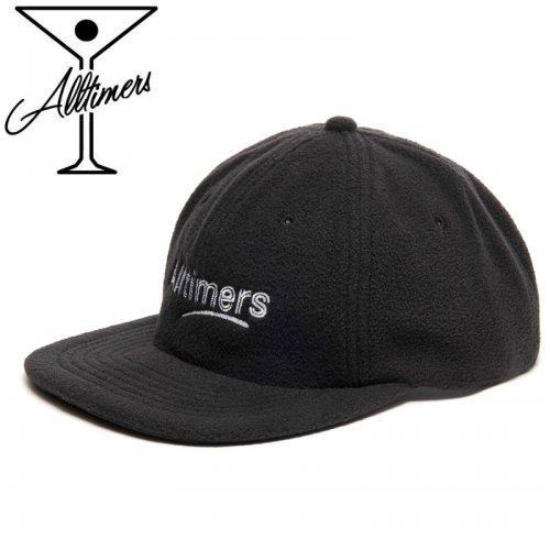 【ALLTIMERS オールタイマーズ スケボー キャップ】FLEECY HAT【ブラック】NO4