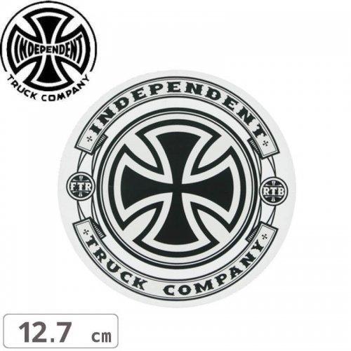 【インディペンデント INDEPENDENT スケボー ステッカー】STEADY MYLAR STICKER【12.7cm x 12.7cm】NO112