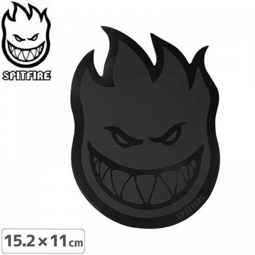 【スピットファイアー SPITFIRE スケボー ステッカー】BIGHEAD BLACK OUT【15.2cmx11cm】NO108