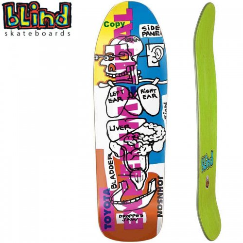 【ブラインド BLIND スケボー デッキ】HERITAGE RUDY JOHNSON EXPERIMENTAL SP RE-ISSUE DECK[9.875インチ]NO129