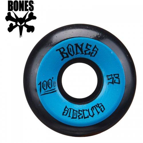 【ボーンズ BONES スケボー ウィール】100's #2 OG SIDECUT V5 ブラック【53mm】NO189