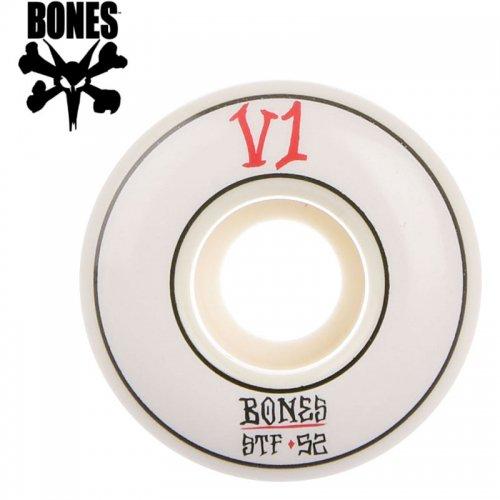 【ボーンズ BONES スケボー ウィール】STF ANNUALS WHEEL V1 ホワイト【51mm】NO190