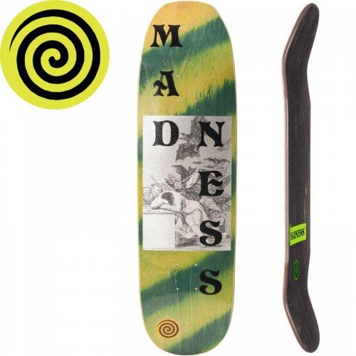 【MADNESS マッドネス スケボー デッキ】DREAMS R7 グリーン[8.75インチ]NO1