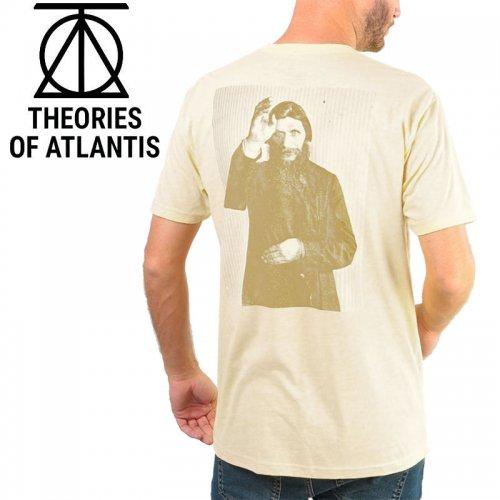 【スケボー Tシャツ THEORIES セオリーズ】RASPUTIN TEE【ナチュラル】NO8