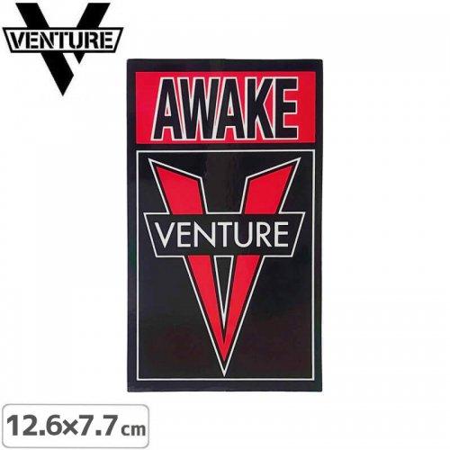 【ベンチャー VENTURE スケボー ステッカー】OG AWAKE STICKER【12.6cm x 7.7cm】NO30