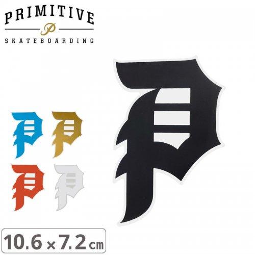 【プリミティブ PRIMITIVE スケボー ステッカー】DIRTY P STICKER【10.6cm×7.2cm】NO22