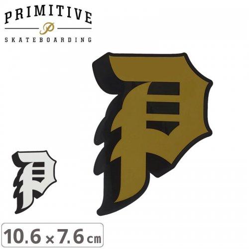 【プリミティブ PRIMITIVE スケボー ステッカー】DIRTY P STICKER【10.6cm×7.6cm】NO23