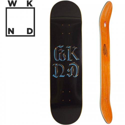 【ウィークエンド WKND スケボー デッキ】CHROME LOGO DECK[8.0インチ]NO29