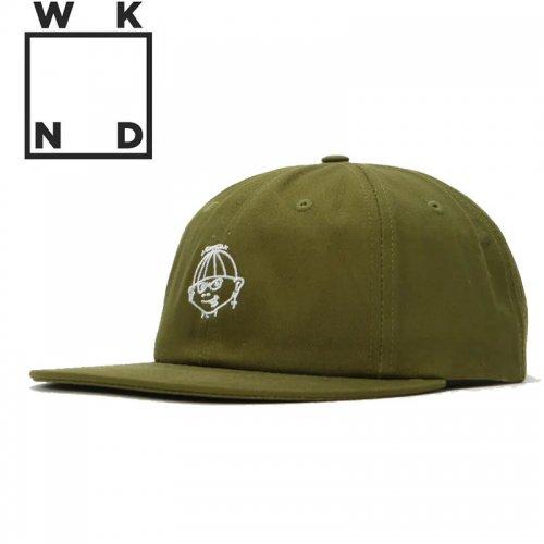 【ウィークエンド WKND スケボー キャップ CAP】CHUMP HAT【オリーブグリーン】NO6
