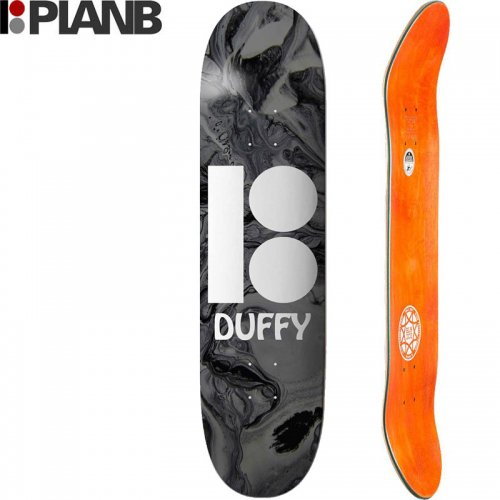 【プランビー PLAN-B デッキ】DUFFY WAVY BLACK-ICE DECK[8.25インチ]NO146